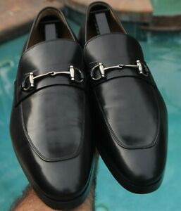 GUCCI Stratosferra  man's Dark chocolate brown Loafers shoes US Size 10.5 D