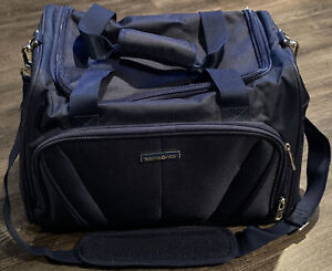 Samsonite Carry On Overnight Shoulder Bag Navy Blue