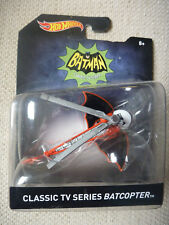 Batman Hot Wheels Classic TV Series BatCopter New & Carded - 2015 release
