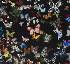 .DESIGNERS GUILD/CHRISTIAN LACROIX FABRIC  BUTTERFLY PARADE OSCURO FCL025/03