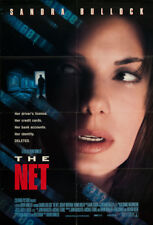 The Net 1995 27x41 Orig Movie Poster Near Mint, Very Fine Sandra Bullock