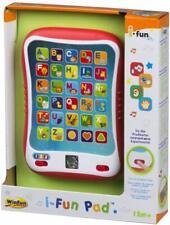 Tablet educativa con luz y sonidos para bebés,+12 meses,30 teclas,letras,figuras