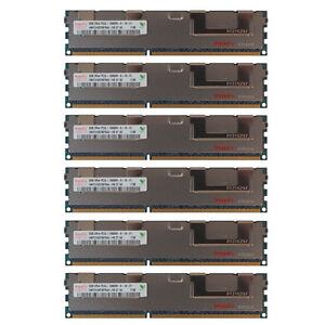 48GB Kit 6X 8GB DELL POWEREDGE C2100 C6100 M610 M710 R410 M420 R515 MEMORY Ram
