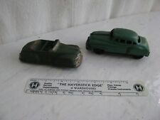 toy- metal & rubber cars (2)