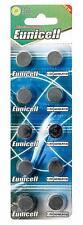 Blister (Lot Of 2 - 50 Battery Sending Box In Tracking Eunicell Ag10 Lr54