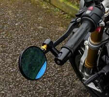 CNC Spy Bar End Mirrors Suzuki bandit 600 1200 pair Genuine HJR Product