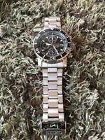 SEIKO 7T62-0CV0 Quartz Chronograph Men's Watch