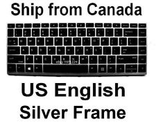Keyboard for HP ProBook 430 G5 440 G5 445 G5 - US English Silver Frame