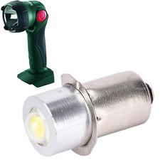 9.6 - 18v LED globe for METABO ULA 9.6-18v ULA14.4-18v torch flashlight bulb