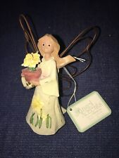 Nwt Roman Angel Accents Birth Month Flower Ornament: March Daffodil