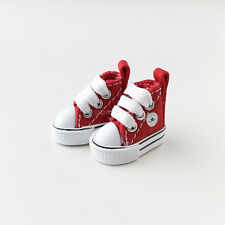 Neo Blythe Pullip Doll Canvas Sneakers Micro Shoes - Red