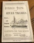 Antique Travel Guide Summer Trips on the Thames
