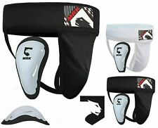 Groin Guard with gel cup Boxing MMA Protector Box Martial Arts Cricket
