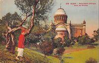 BR46019 Alger Notre dame d afrique entre les Olibiers paint peintures