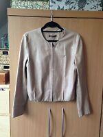 Helmut Lang Tan leather jacket Size M