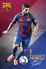 LUIS SUAREZ 2017 - BARCELONA POSTER - 24x36 FOOTBALL SOCCER FC 34152