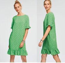 Ladies NEXT Shift Dress Frill TShirt Beach Smock Dress Summer Floral Print Size