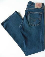Women's Levis 519 Flares Bootcut Jeans 10S (Eur 36S) W28 L30 Blue Flared Stretch