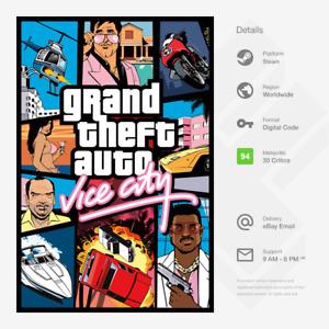 Grand Theft Auto: Vice City (PC) - Steam Key [GLOBAL]