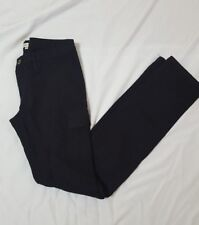 Green Label Relaxing Womens Black Cargo Skinny Pants Size 38