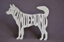 Norwegian Lundehund  Dog Wooden Amish made Toy Puzzle NEW