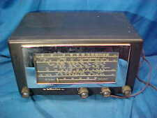 1950s HALLICRAFTERS Model 5R10A Radio RECEIVER AM + CW Plays