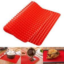Antihaft-Silikon-BBQ-Pan-beständiger Ofen-Backen-Grill-Ölfilter-Pyramiden