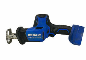 Used Kobalt KRS 124B-03 24V Brushless One Handed Reciprocating Saw - Bare Tool