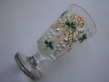 antikes Teeglas, Böhmen, Emaillemalerei, Jugendstil, um 1900 (61)