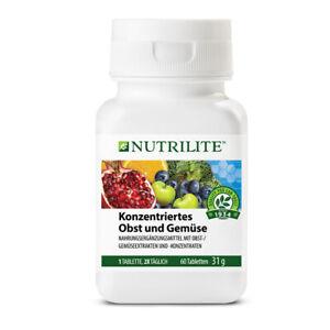 AMWAY Konzentriertes Obst und Gemüse NUTRILITE enthält Antioxidanten