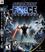 Star Wars: The Force Unleashed (Sony PlayStation 3, 2008)   FAST SHIPPING !! PS3