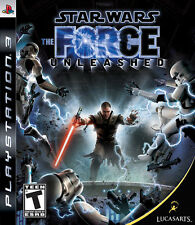 Star Wars The Force Unleashed RE-SEALED Sony PlayStation 3 PS PS3 GAME