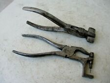 Genuine Vintage Rare Two Pliers For Piano Tuning Hand Maintenance Tool