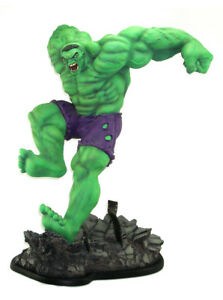 Sideshow Collectibles Incredible Hulk Comiquette Statue Marvel Sample