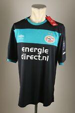 PSV Eindhoven Gr. XL / XXL Umbro 2016-17 Jersey Away Niederlande Shirt + Patch