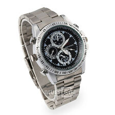 8GB Waterproof HD Spy Wrist Watch Video Recorder Hidden Camera DVR DV Camcorder