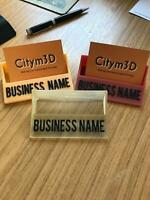Personalised Business Card Holder Custom Business Card Holder unique gift