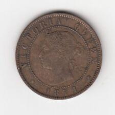 1871 Prince Edward Island 1/2 Cent Coin - VF+