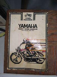1965 - 1971 Yamaha  Twin Cylinder Motorcycle Repair Manual Clymer