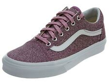 35c720768d VANS OTW OLD SKOOL (LUREX GLITTER) CANVAS SHOES PINK WOMENS SZ 9 NIB NEW