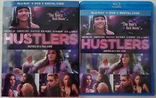HUSTLERS BLU RAY DVD 2 DISC SET + SLIPCOVER SLEEVE FREE WORLDWIDE SHIPPING