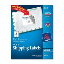"Avery Shipping Label - 3.50"" Width X 5"" Length - 100 / Pack - Rectangle -"