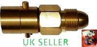 UK Bayonet LPG Filling Point refill Gas Propane cylinder Bottle POL brass new