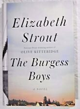 The Burgess Boys by Elizabeth Strout - a novel - hardcover