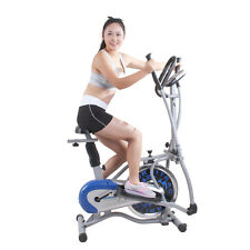 EFL Elliptical Exercise Trainer Bike Workout Bicycle Home Fitness Cardio Gym