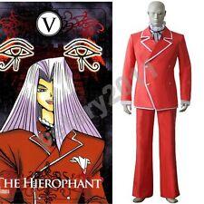 Custom-made Yu-gi-oh! Maximillion Pegasus Uniform Cosplay Costume
