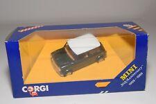 ^ CORGI TOYS C330/5 MINI 30TH ANNIVERSARY RACING DENIM MET. GREEN MINT BOXED