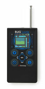 Anti spy bug detector RF Signal detector Spy Bug Sweeper BugHunter BH-03