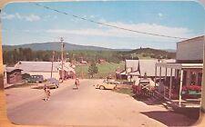 Idaho Postcard ELK CITY Main St Gold Rush Camp E of Grangeville Ross Hall ca1960