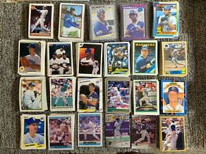 1979 - 2000s Seattle Mariners Baseball Card Lot 1,300 Different *Rookies* Ichiro